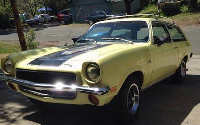 Für $ 5.900 sagt dieser 1973 Chevy Vega GT Wagons Ho!