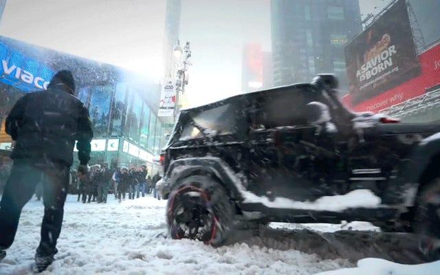 อะไรคือสิ่งที่บ้าที่สุดที่คุณเคยทำในรถของคุณในช่วงฤดูหนาว?