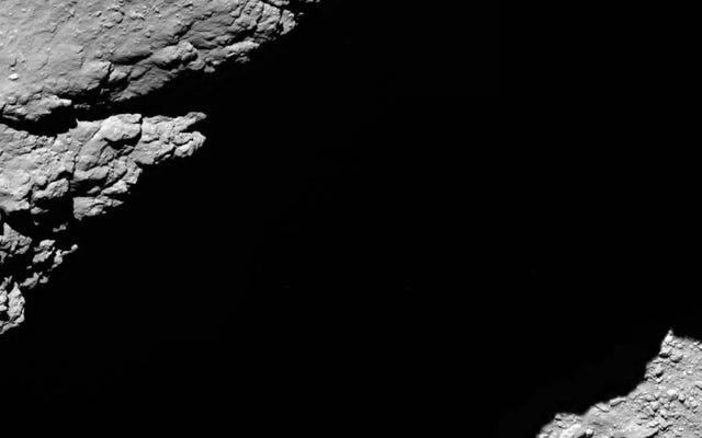 To ostatnia rzecz, jaką widziała sonda Rosetta, zanim umarła