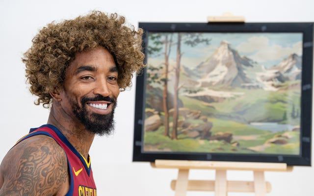 """Rapor: NBA, Gelecek Sezon """"Üstün"""" Logo Dövmesini Örtmezse JR Smith'i Güzelleştirecek"""
