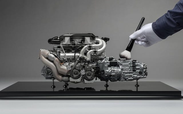 एक Bugatti Chiron मॉडल इंजन के लिए $ 10,000 का भुगतान बल्कि मूर्खतापूर्ण लगता है