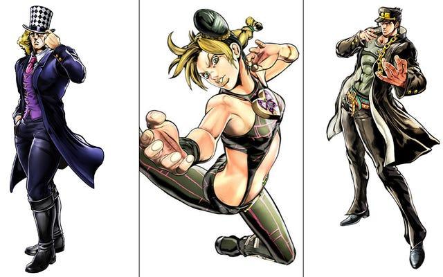 新しいジョジョの奇妙な冒険ゲームのすべてのキャラクター