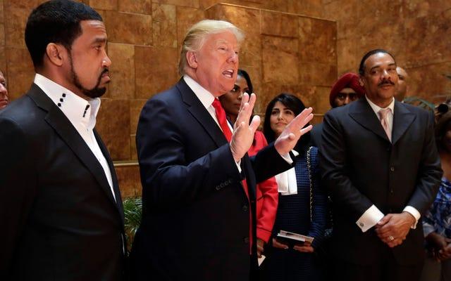 `` Черные '' суррогаты используют социальные сети, чтобы танцевать чечетку из-за чуши Трампа о превосходстве белых
