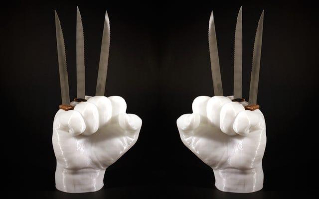 Ce porte-couteau Wolverine est un moyen génial et incroyablement dangereux de ranger vos couteaux