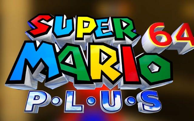 Super Mario 64 Plus ajoute des paramètres et des idées très cool au classique de Nintendo