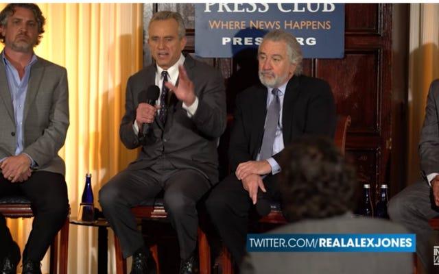 Robert De Niro et Robert F. Kennedy Jr. appellent les vaccins dangereux, ce qu'ils ne sont pas