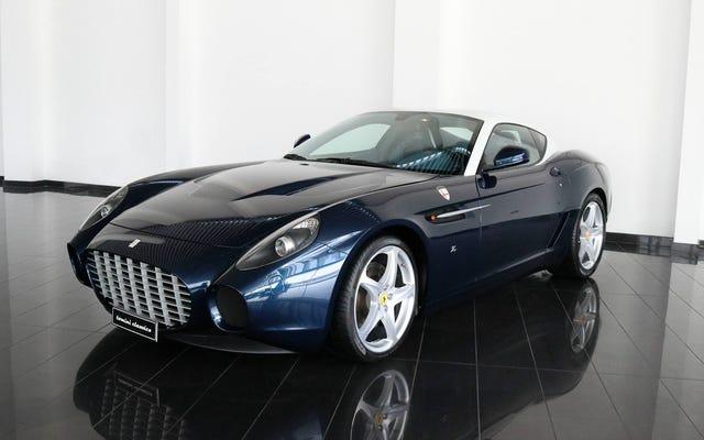 Попросите на Рождество великолепный Ferrari с кузовом Zagato, вы того стоите