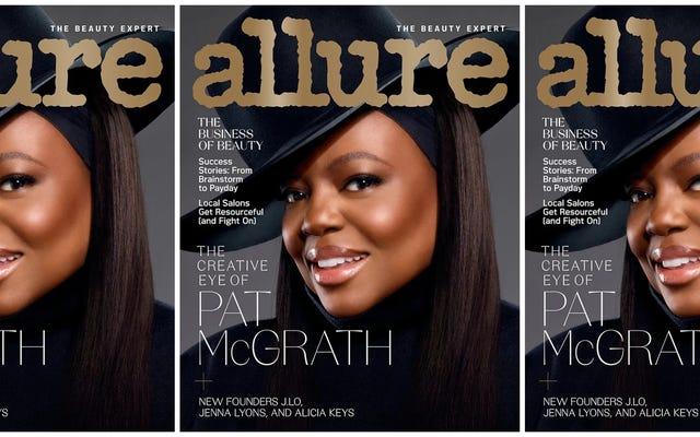 Pat McGrath puede ser la madre del maquillaje, pero esta portada innovadora nos hace codiciar su cuidado de la piel