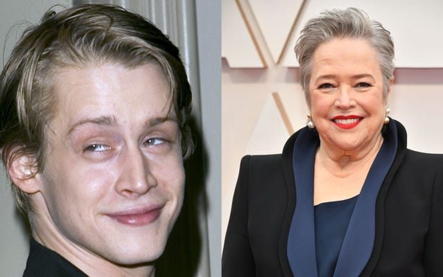 """Macaulay Culkin a """"des relations sexuelles folles et érotiques"""" avec Kathy Bates dans la nouvelle saison d'American Horror Story"""