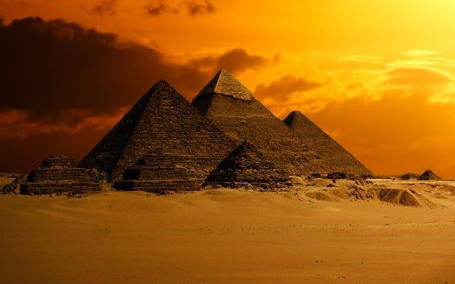 Sebuah penemuan kebetulan bisa mengungkapkan rahasia terbaik orang Mesir yang disimpan: bagaimana mereka membangun piramida