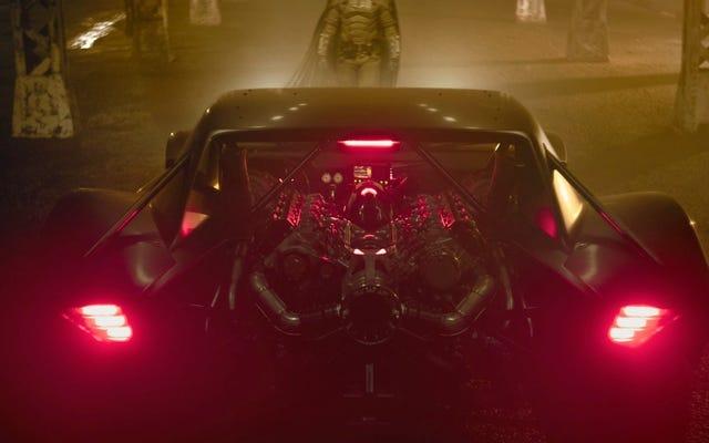 ホットくそー、バットマンの新しい乗り物を見てください
