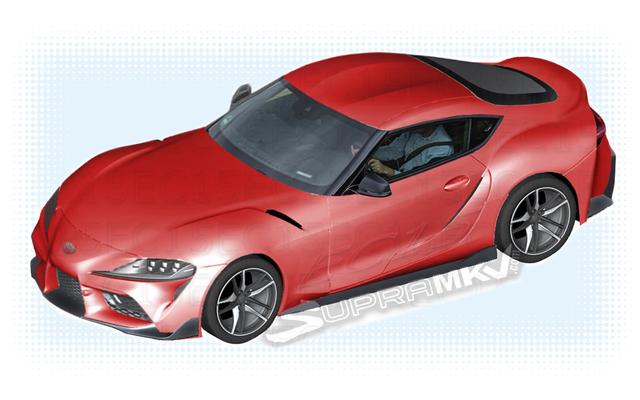 2019トヨタスープラ:いくつかの漏れた部品図からのかなり多くの車全体