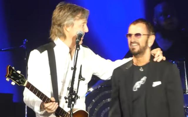 Paul McCartney i Ringo Starr spotkali się ponownie na scenie w LA w niedzielę