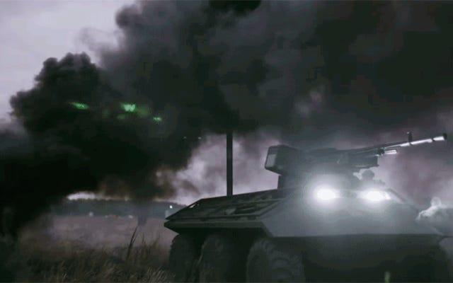 ウクライナの新しい無人「ファントム」地上車両はロシアの戦車を破壊することを目指しています