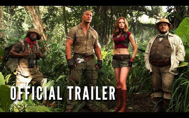 Passez au niveau supérieur avec la première bande-annonce de Jumanji: Bienvenue dans la jungle