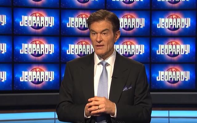 Dr. Oz menjadi tuan rumah Jeopardy! dan semua orang membencinya