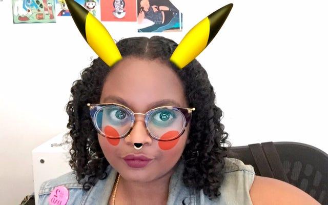 Snapchat a maintenant un filtre Pikachu