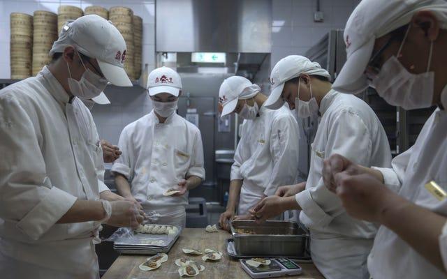 Los imperios de las albóndigas de sopa no se construyen en un día, dice el director ejecutivo de Din Tai Fung