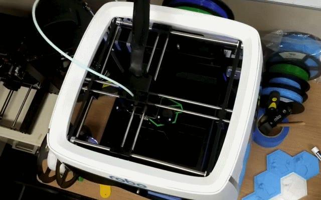Robo R2:これはあなたが探している3Dプリンターです