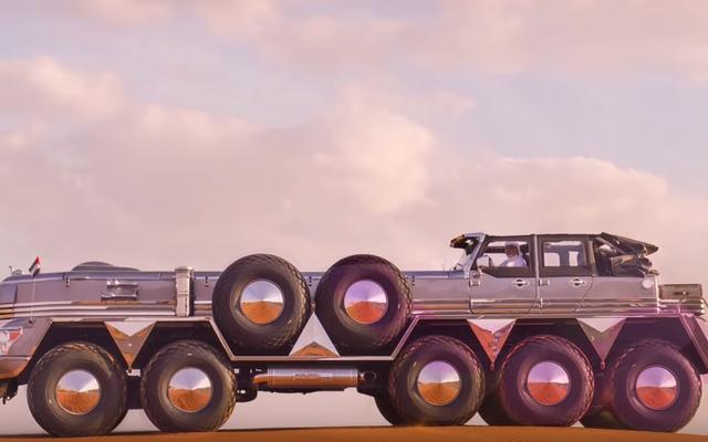Ta absurdalnie ogromna ciężarówka jest częścią Dodge Dart