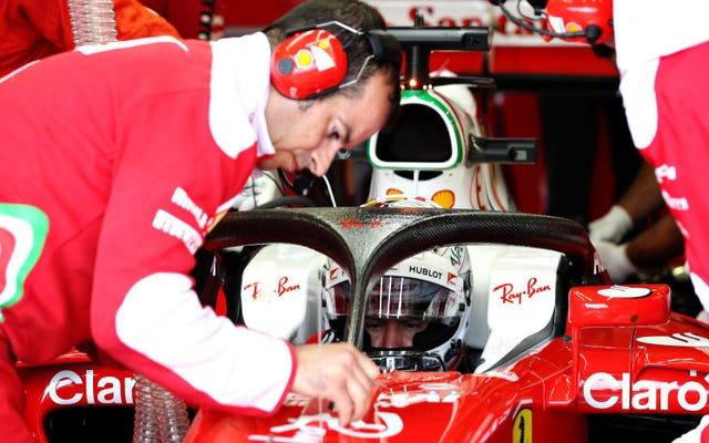 C'est officiel: ce sera la nouvelle cabine fermée des voitures de Formule 1 à partir de 2018