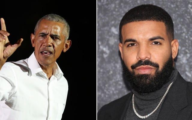 オバマは、ドレイクが避けられない伝記で彼を演じるのに十分良いと考えています