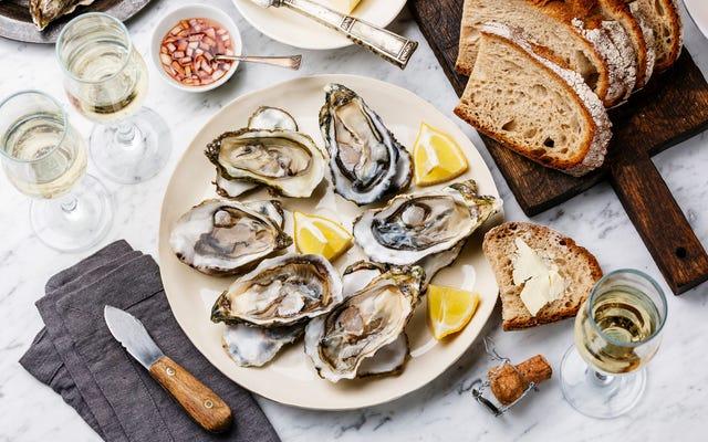 シャンパンと牡蠣がとてもよく合う理由
