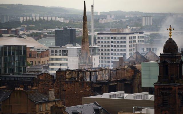 Maaf, Glasgow: Tampaknya Anda cukup murung untuk menjadi pengganti baru Kota Gotham