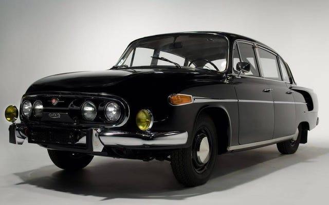 Chiếc Tatra này từng thuộc về Yasser Arafat - Hay là?