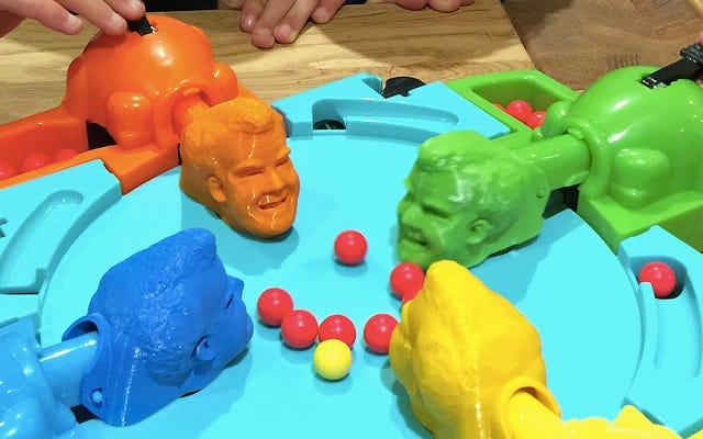 Puoi riprodurre ippopotami affamati affamati con le teste di Jeremy Clarkson stampate in 3D
