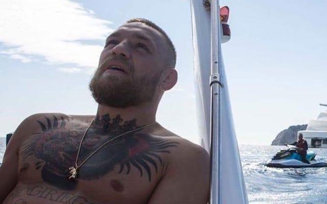 コナー・マクレガーは大きなボートを見た後も戦い続ける意欲を持っていた
