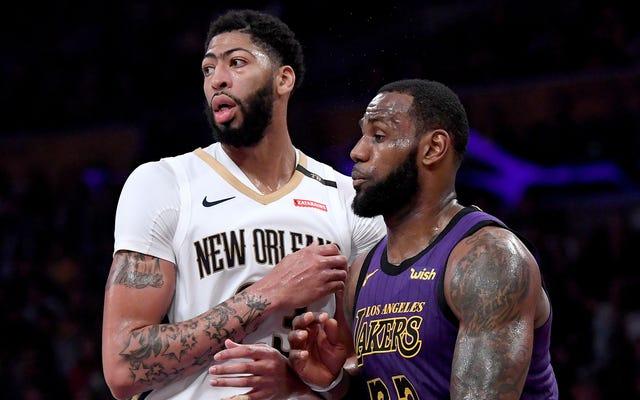 Laporan: Anthony Davis Terbakar Dengan Keinginan Yang Hanya Bisa Puaskan Dengan Bergabung Dengan The Lakers