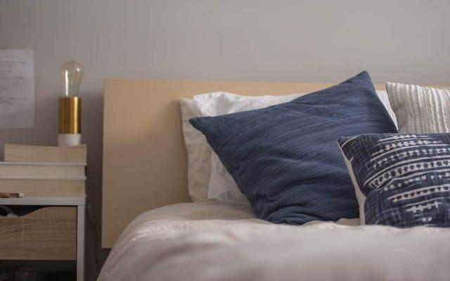 たくさんの余分な枕カバーを持つことはちょっと人生を変えることです