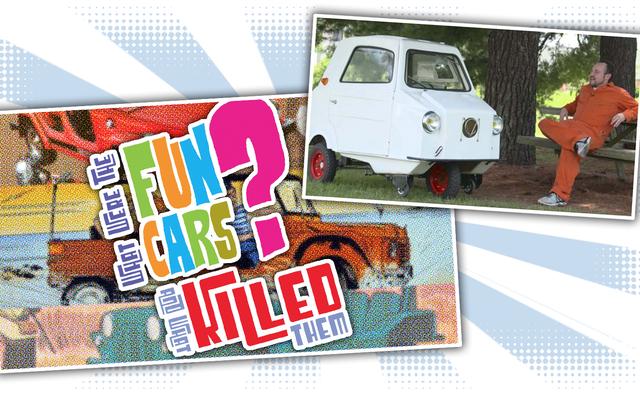 Ich halte einen Vortrag über lustige Autos im Lane Museum und Sie müssen kommen, um es zu sehen
