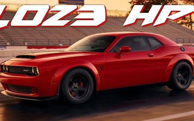 Rumor Gila Mengatakan The 2018 Dodge Challenger SRT Demon Memiliki Hingga 1023 Horsepower