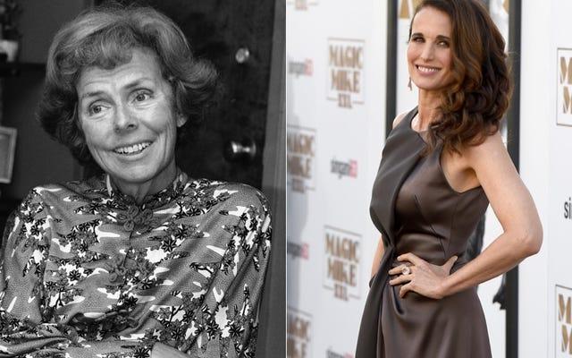 アンディマクダウェルはアイリーンフォードと70年代のモデリングの世界についてのテレビ番組で主演します