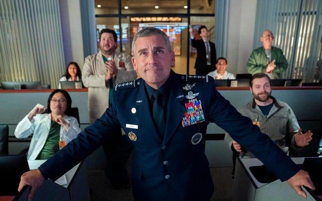 Steve Carell commande une force spatiale lors du premier regard sur la nouvelle comédie Netflix de Greg Daniels