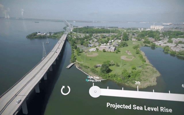 Los planificadores climáticos usan la realidad virtual para mostrar a las comunidades cómo el aumento del nivel del mar las diezma