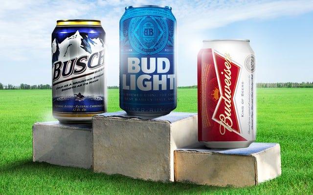 Degustazione e riconsiderazione delle birre più famose d'America
