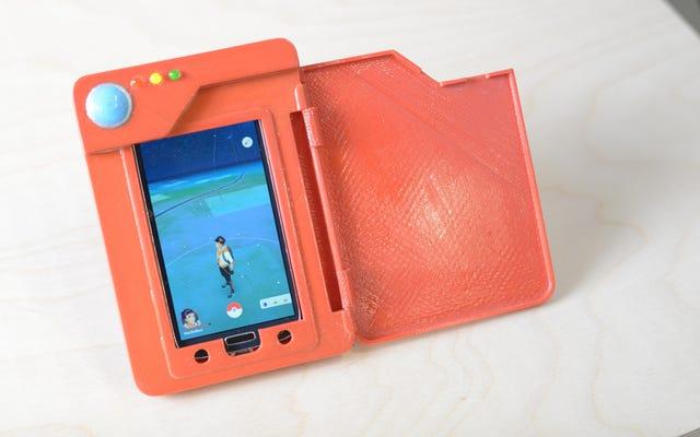 เคสแบตเตอรี่ DIY Pokedex นี้เป็นอุปกรณ์เสริมPokémon Go ที่คุณรอคอย