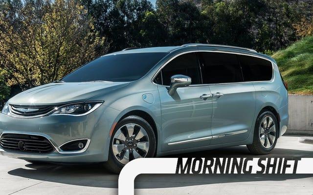 La Chrysler Pacifica pourrait être la prochaine voiture autonome de Google
