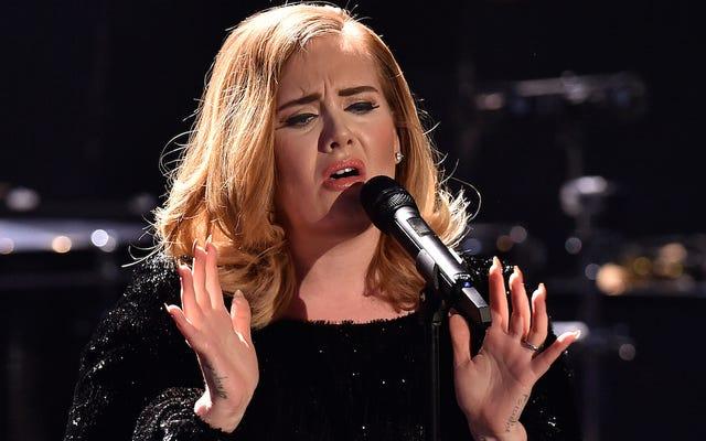 Adele, Cumhuriyetçilerin Müziğini Aptal Kampanyaları İçin Kullanmayı Bırakmasını İstiyor