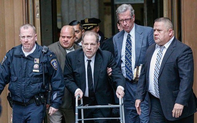 Harvey Weinstein può restare il culo in prigione mentre fa appello alla sua condanna per stupro