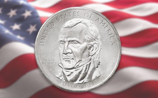 US Mint présente une nouvelle pièce de sept cents pour renforcer les compétences en mathématiques des citoyens