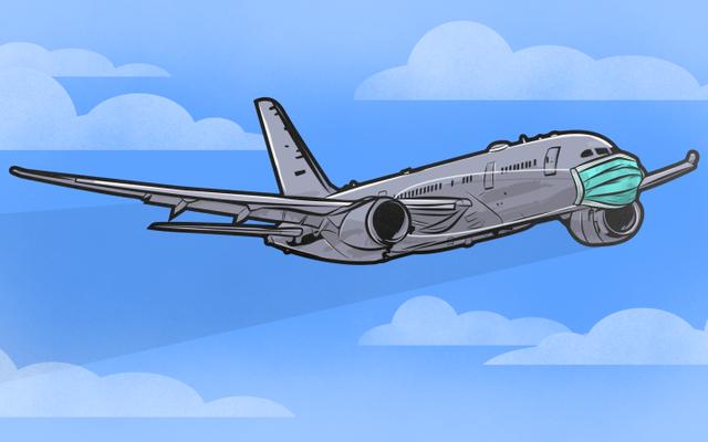 飛行機で旅行するときに細菌との接触を避ける方法