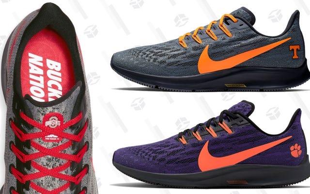 Кроссовки Nike Air Zoom Pegasus с тематикой NCAA уже доступны