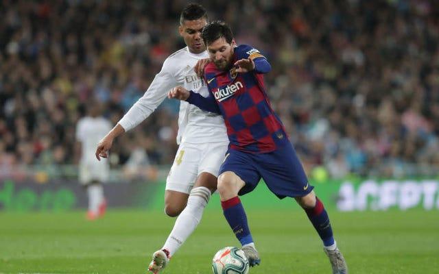 バルセロナとレアルマドリードを含むスペインサッカーリーグ全体がFIFAでお互いにプレーする予定です[更新:レアルマドリードが勝ちます]