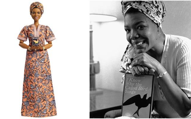 Y aún asciende: la Dra. Maya Angelou es una de las 'mujeres inspiradoras' de Barbie