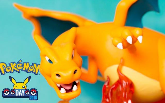 Charizard est la meilleure partie de Pokémon Day 2018