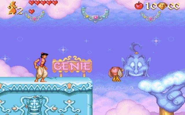 Le niveau de génie dans Aladdin est une magie Disney pure